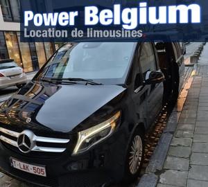 Van Mercedes V class - Power Belgium