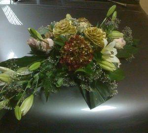 Power Belgium - Bouquet de fleur sur capot plusieur modéle