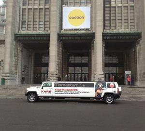 Power Belgium - Cocoon 2013 pub pour Momentum Loft a Jette